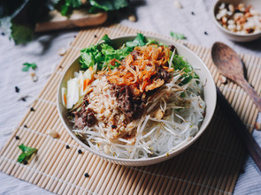 Vietnamese Bun Noodle Bowls (made in under 30 minutes)