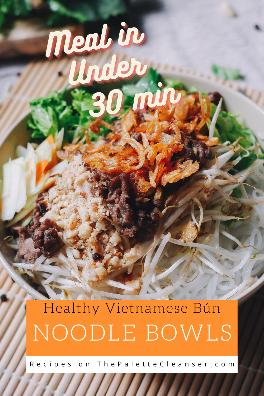 Meal under 30 minutes healthy Noodle