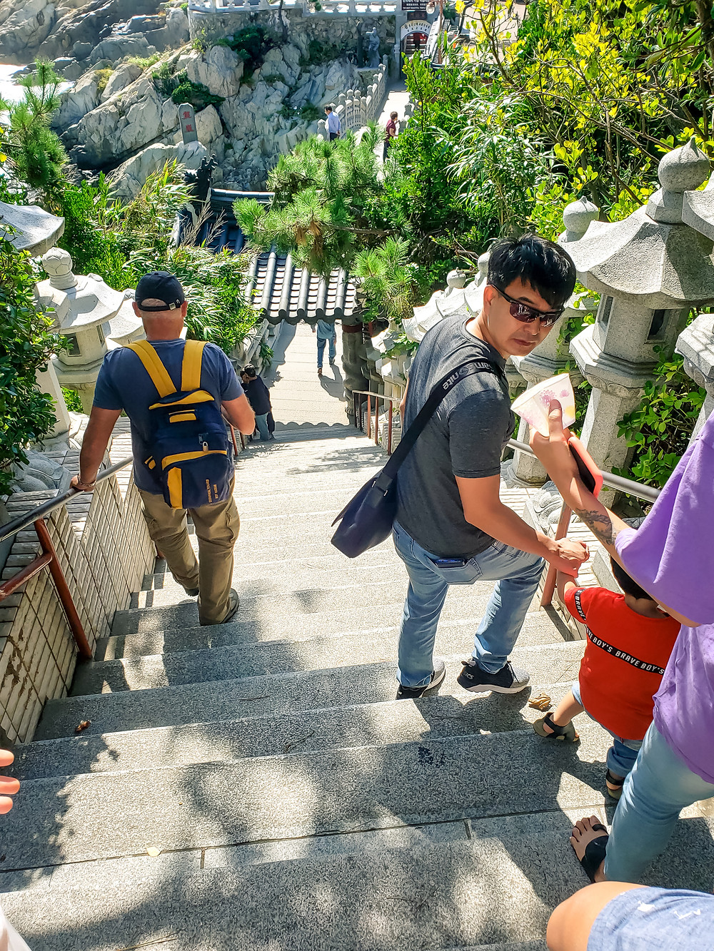 haedong yonggungsa temple 108 stairs