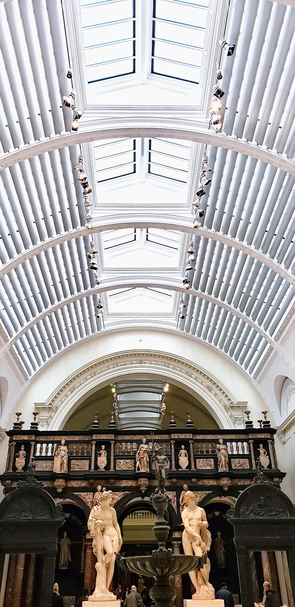 inside of london museum