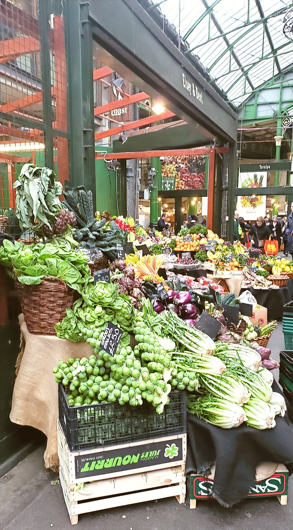 green grocers produce fresh london