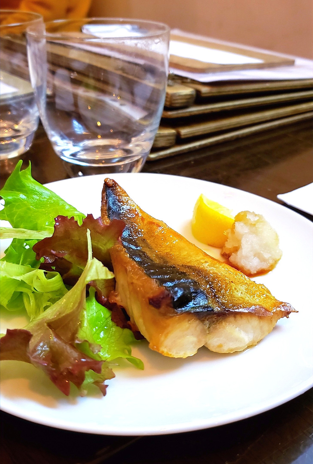 miso cod grilled