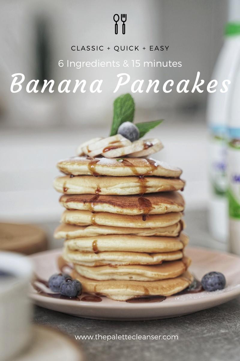 six ingredient pancakes