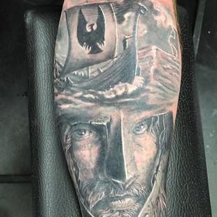 #tam #inked #ohiotattoos #ohiotattooartists #tattooed #blackandgreytattoo #blackandgrey #brandonlewismachines #jameslockerart #nationaltatto