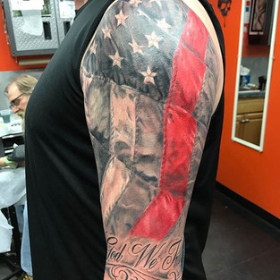 #nationaltattooassociation #artisthemotive #jameslockerart #brandonlewismachines #nta #firefighter #tattoo #tattoos #tattooed ##tattooart #i