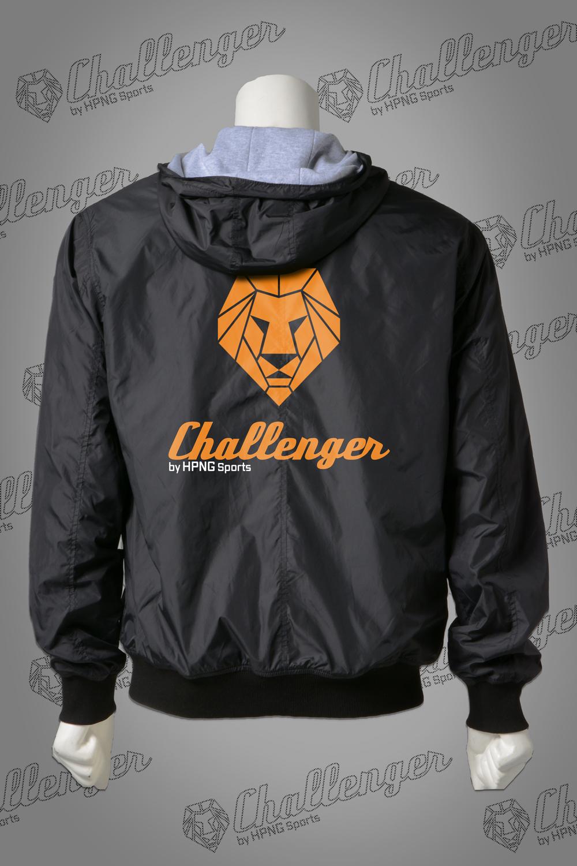 Windbreaker Challenger back