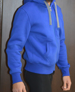 Φούτερ ζακέτα μπλε