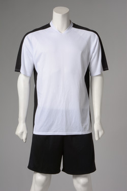 Εμφάνιση ποδοσφαίρου ασπρόμαυρη