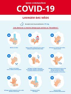 2. DGS. Lavagem das mãos com água e sabã