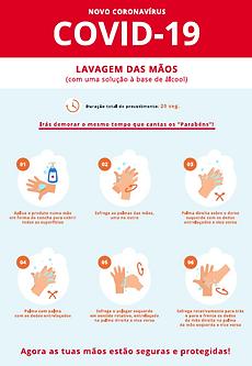 1. DGS. Lavagem das mãos com solução à b