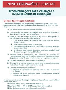 3. DGS. Recomendações para crianças e en