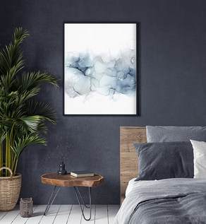 Art Poster Cool Grey