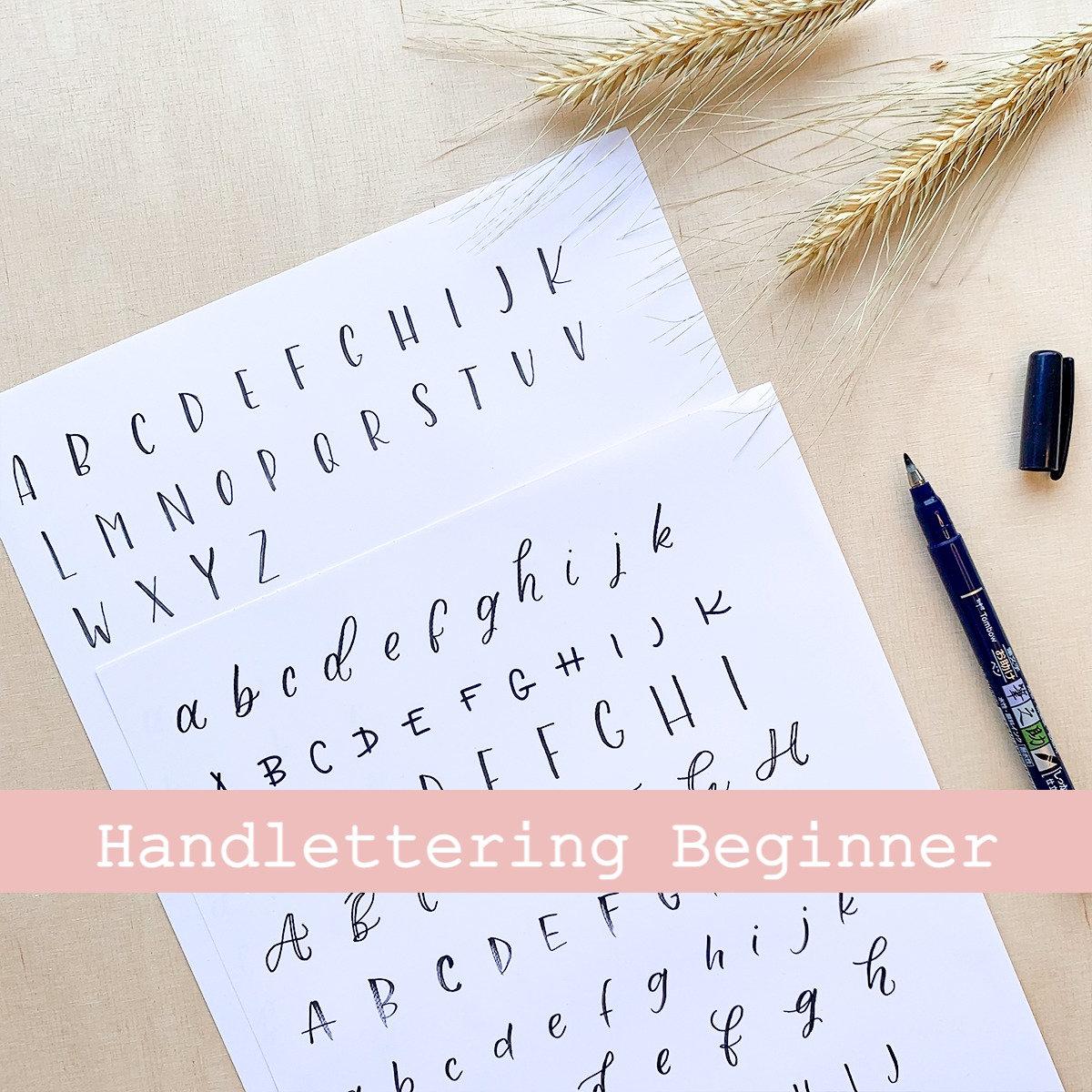 Lettering Beginner Kurs