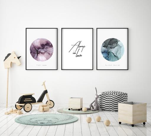 Art Poster Neptun & Juniper