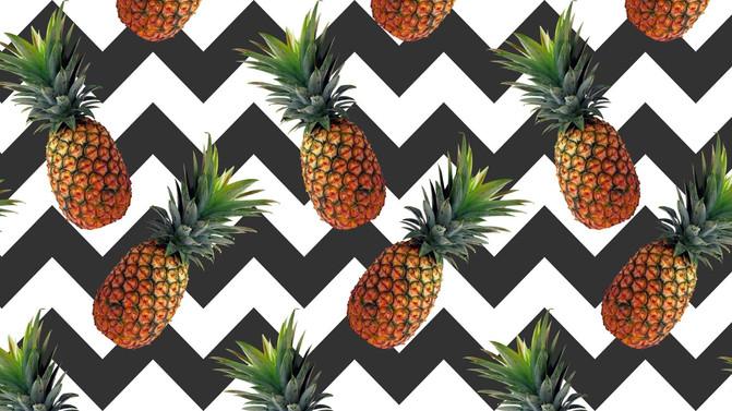 Tendência: Na onda do abacaxi