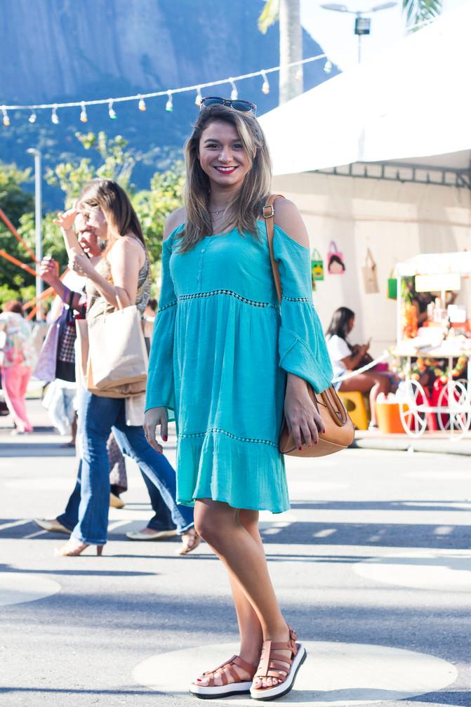 Look da Nat: vestido soltinho