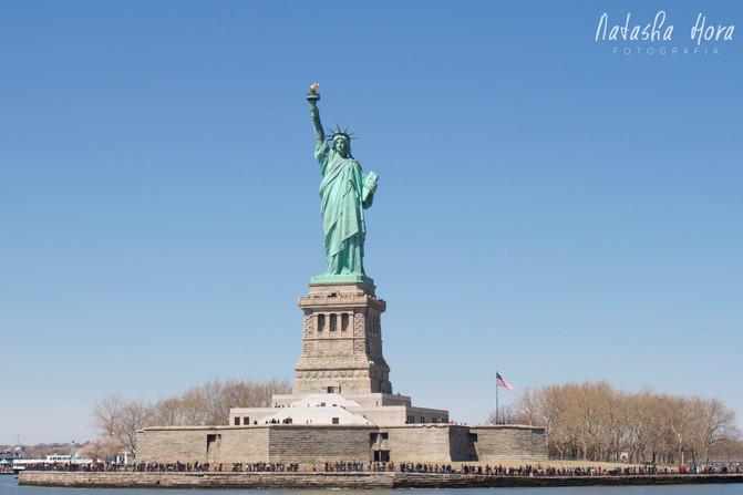 Water Taxi, Estátua da Liberdade, Brooklyn e Financial District