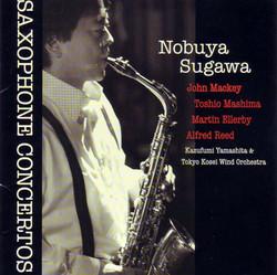 Nobuya Sugawa - Saxophone Concertos