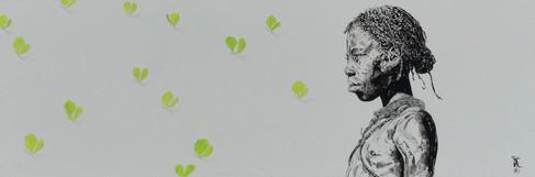 Les papillons verts.._
