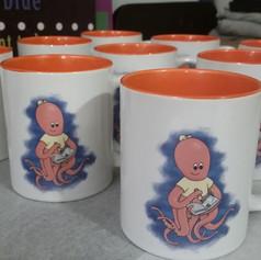 Two Tone 11oz Coffee Mug