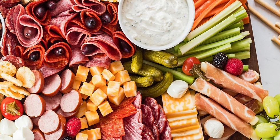 Sip & Learn: Charcuterie Boards with Kate Norris