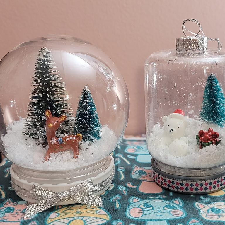 Adult Craft: DIY Snow Globes