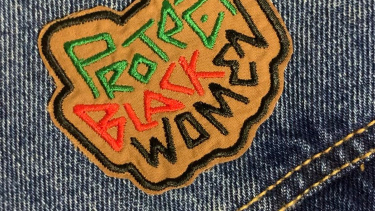 Protect Black Women Patch