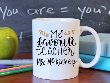 It's almost Teacher Appreciation Week!!