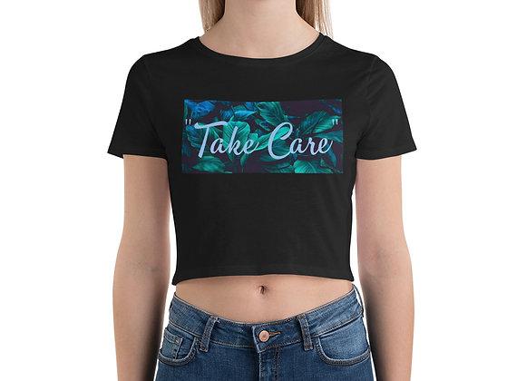 """Take Care"" - Saweetie Crop Tee"
