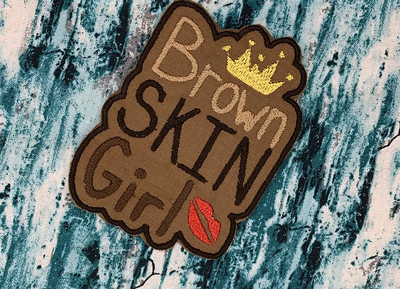 Brown Skin Girl Patch