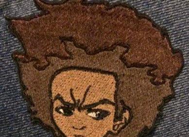 Huey Freeman Iron-on Patch