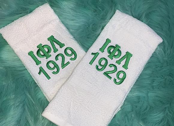 Iota Phi Lambda Hand Towel