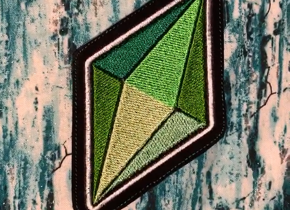 Sims Plumbob Iron-on Patch