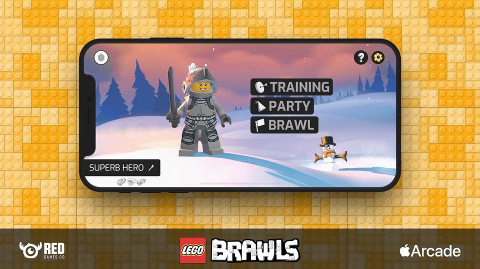 LEGO BRAWLS UI