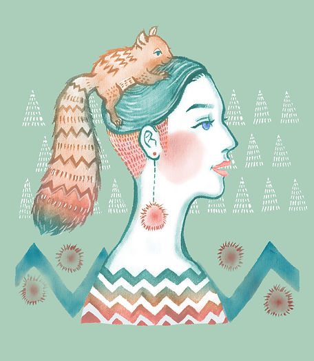 Summer mood 01-Squirrel Girl