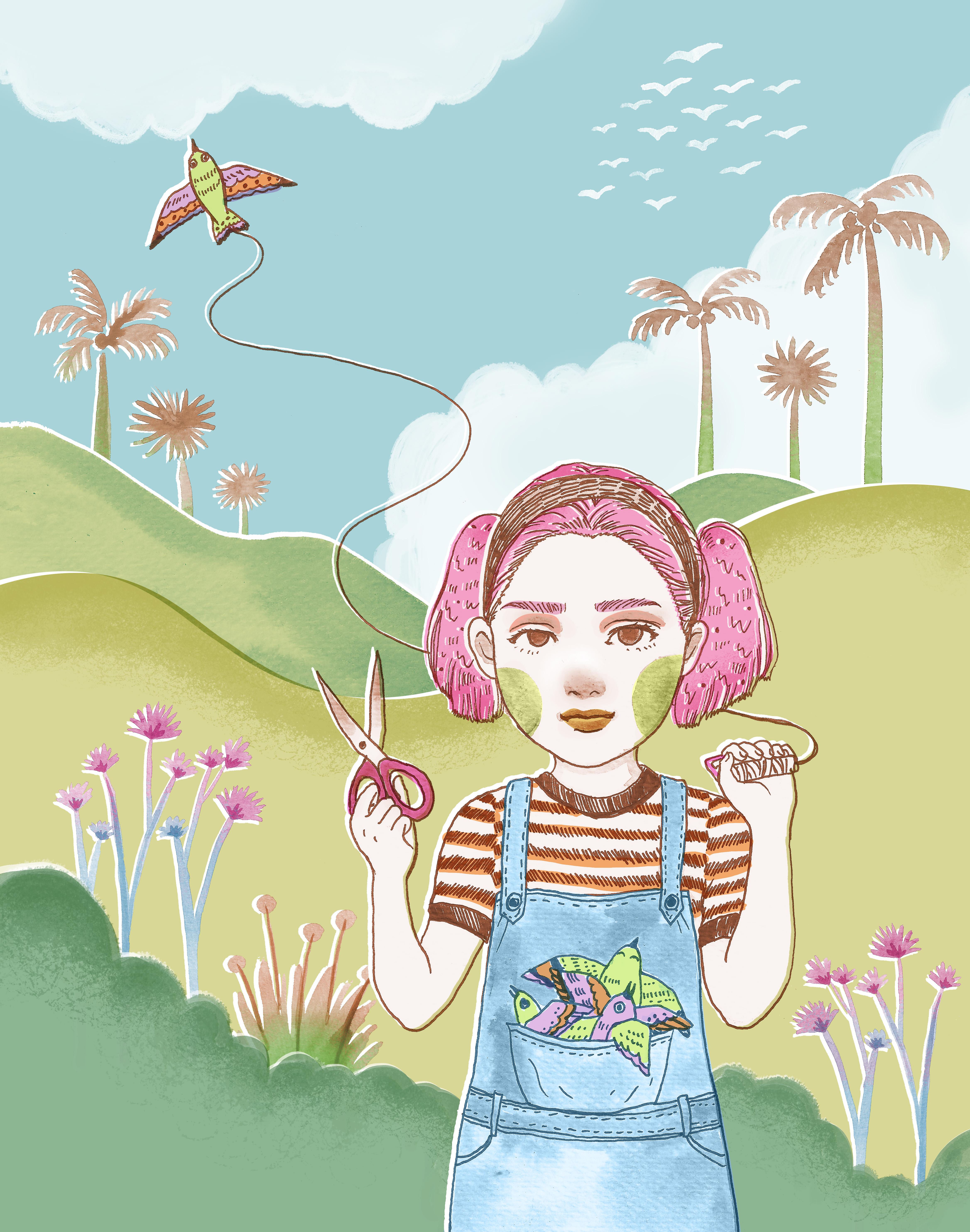 Kite&Girl