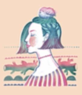 Summer mood 02- Bird Girl