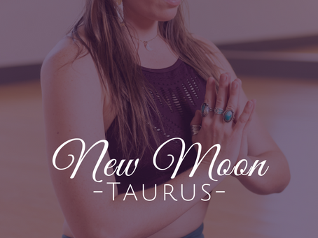 New Moon in Taurus May 2019 - Strong Foundations