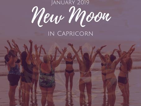 New Moon in Capricorn January 2019