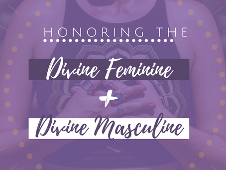 Conscious Love with the Divine Feminine + Divine Masculine