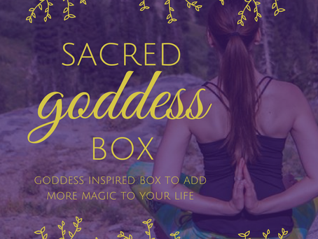 Begin Spring with a Gorgeous Goddess Box