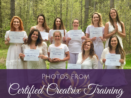 Photos from Certified Sacred Women's Circle Creatrix™ Live Retreat May 2018