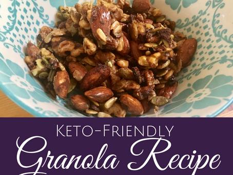 How to Make Keto-Friendly Homemade Granola