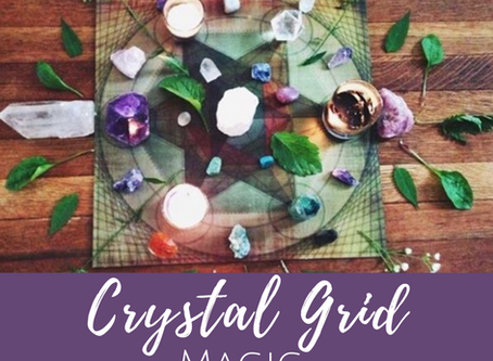 Creating Healing Crystal Grids