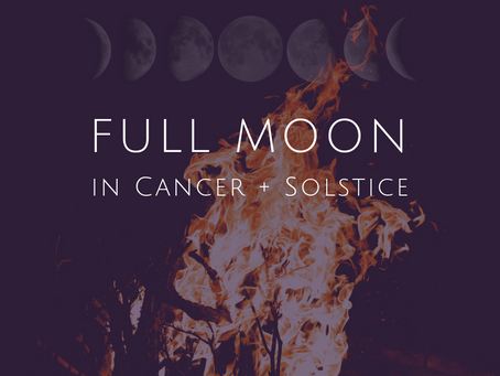Full Moon in Cancer December 2018 and Winter Solstice