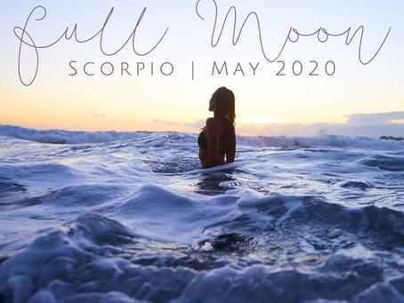 Full Moon in Scorpio May 2020: Lifting the Veil