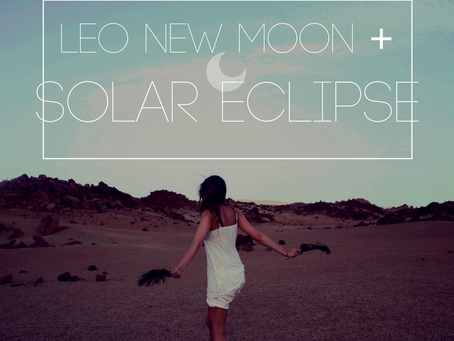 New Moon in Leo + Massive Eclipse August 2017