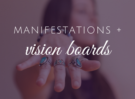 Using a Vision Board to Manifest Your Dreams