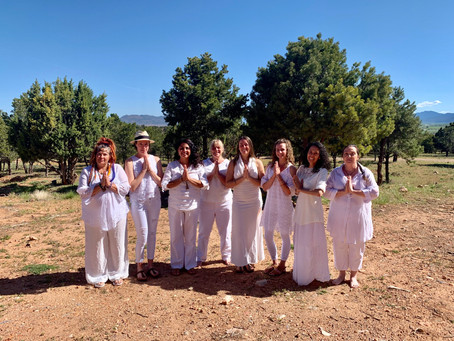 Photos from the Certified Sacred Women's Circle Creatrix Retreat May 2019