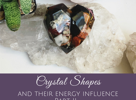 Crystal Shapes and their Energy Influence Part II